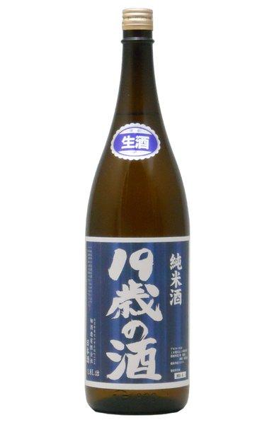 画像1: 19歳の酒 純米生原酒 2019年度 1800ml (1)